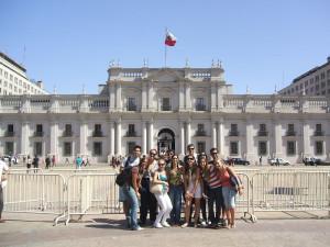 La Moneda Santiago Chile