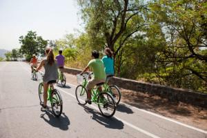 Paseo Bicicleta Cerro San Cristobal